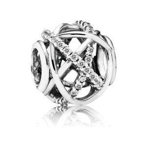 RETIRED Authentic Pandora Galaxy Love CZ Charm